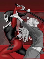 哈莉・奎因:黑白红